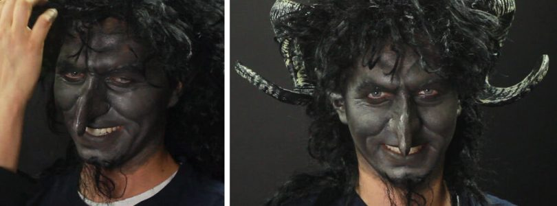 Have Your Kids Been Bad? Check Out This Krampus Make-up Tutorial!