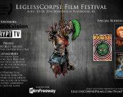 Leglesscorpse Films Announces 1st Annual Leglesscorpse Film Festival