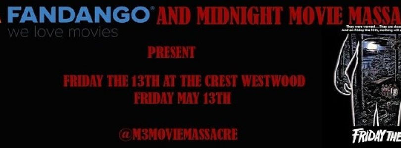 Friday The 13th Screening in Los Angeles For May 13