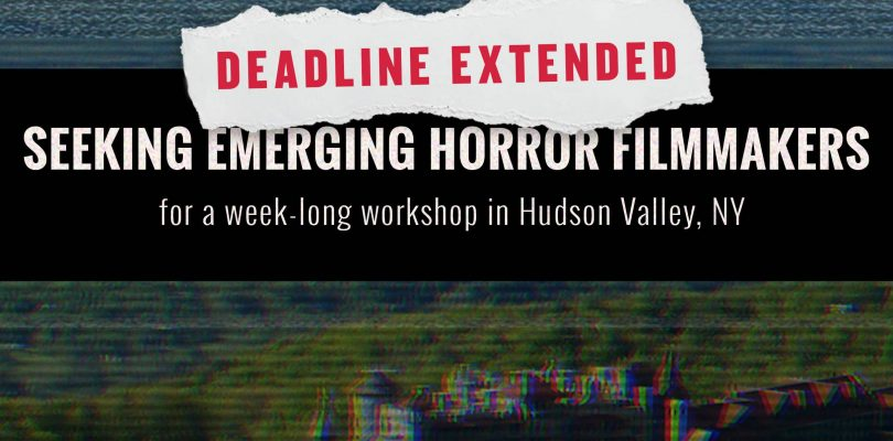 Shudder Labs Extends Deadline And Announces Masters-In-Residence